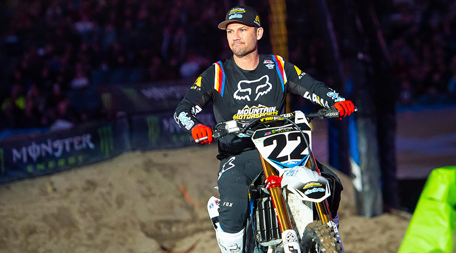 After subdued 'One Last Ride,' Chad Reed still wants final farewell to fans  - ARN